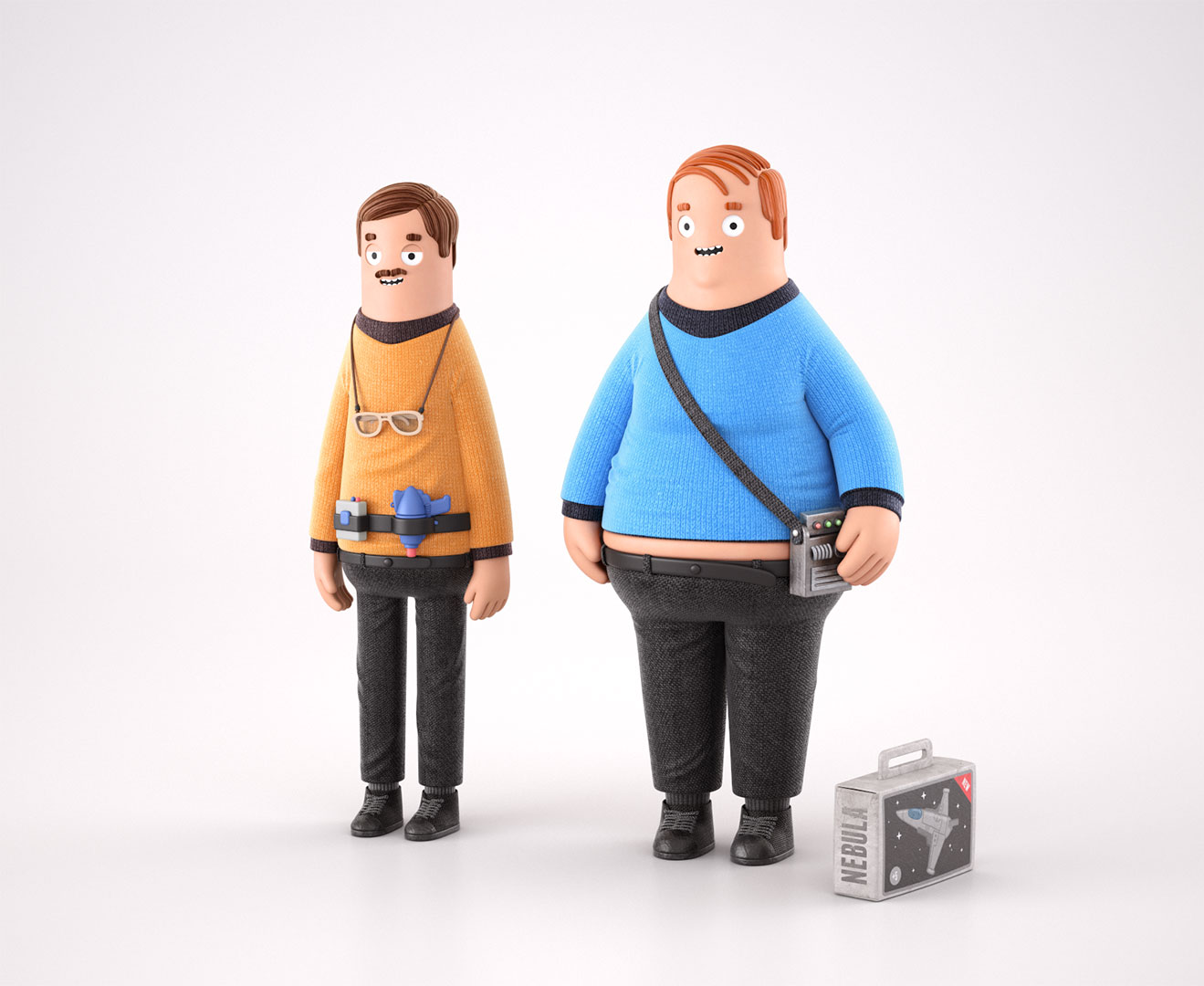 Trekkies illustration