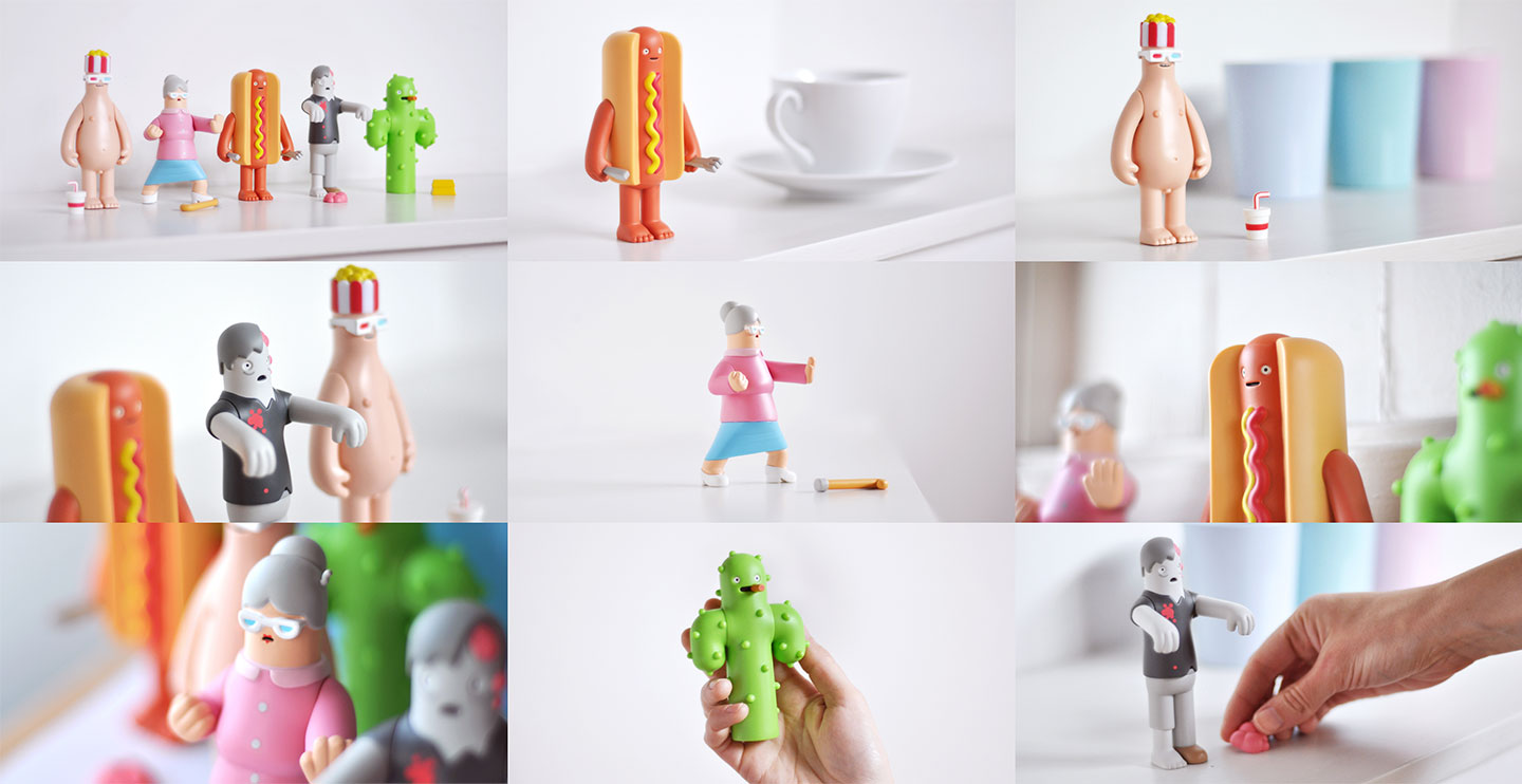 Yum Yum art toys series one